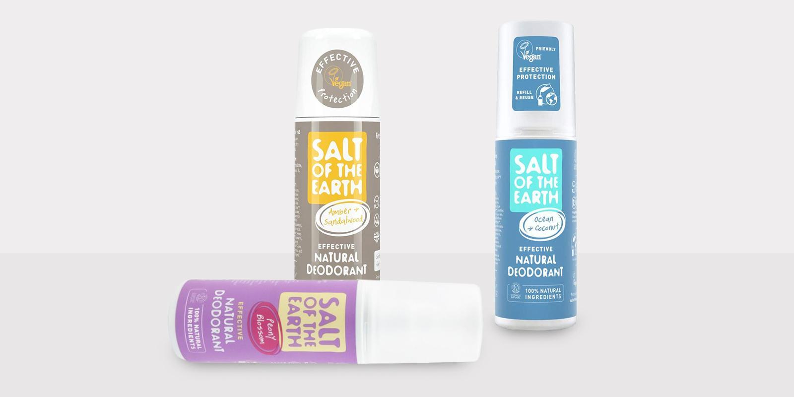 Crystal spring Salt of the Earth přírodní deodoranty