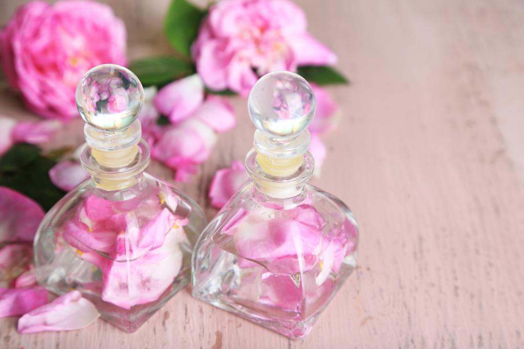Esenciální olej růže