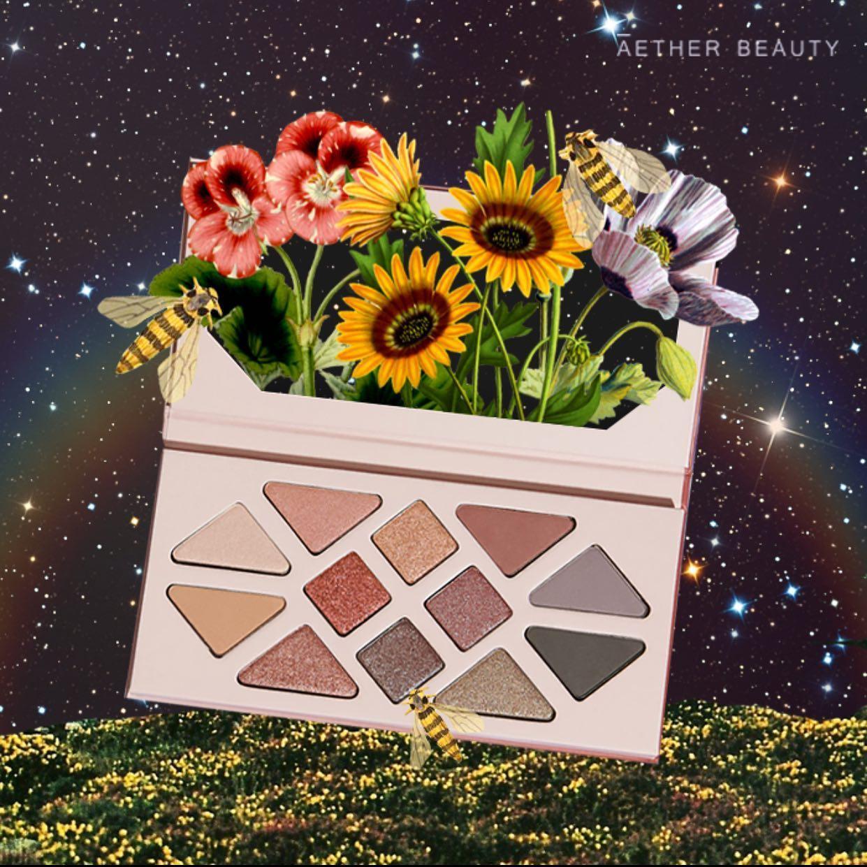 Aether Beauty líčící paletky inspirované vesmírem