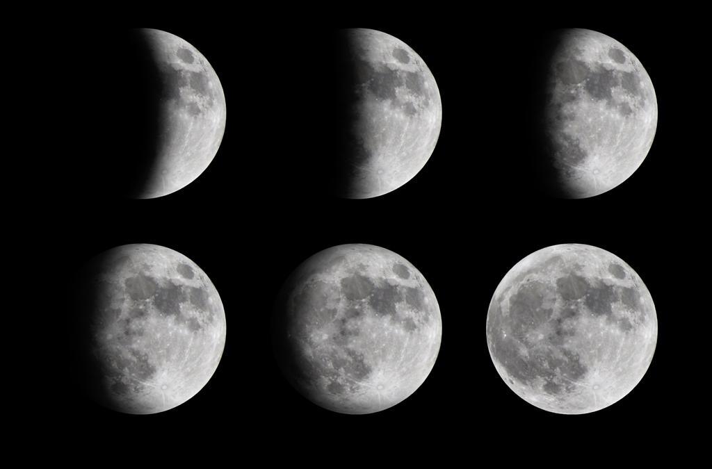 Vliv fází Měsíce