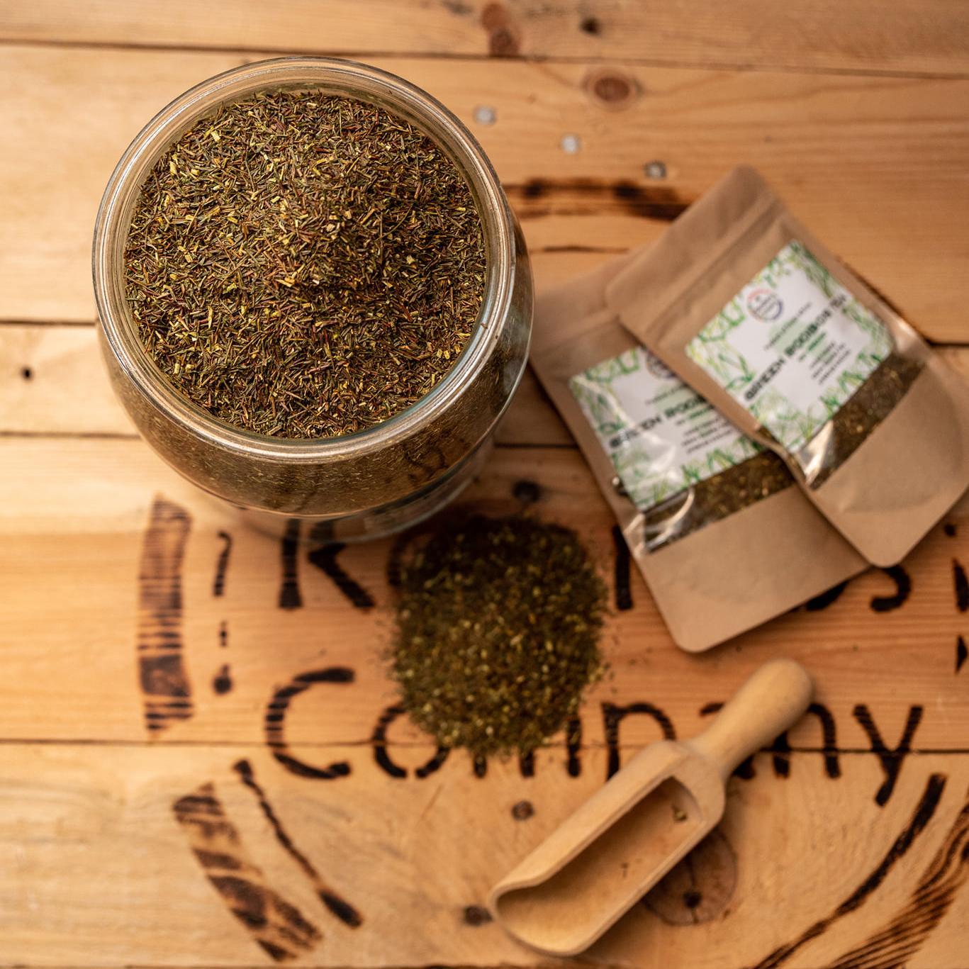 Green Rooibos sypaný čaj od Roobios Company