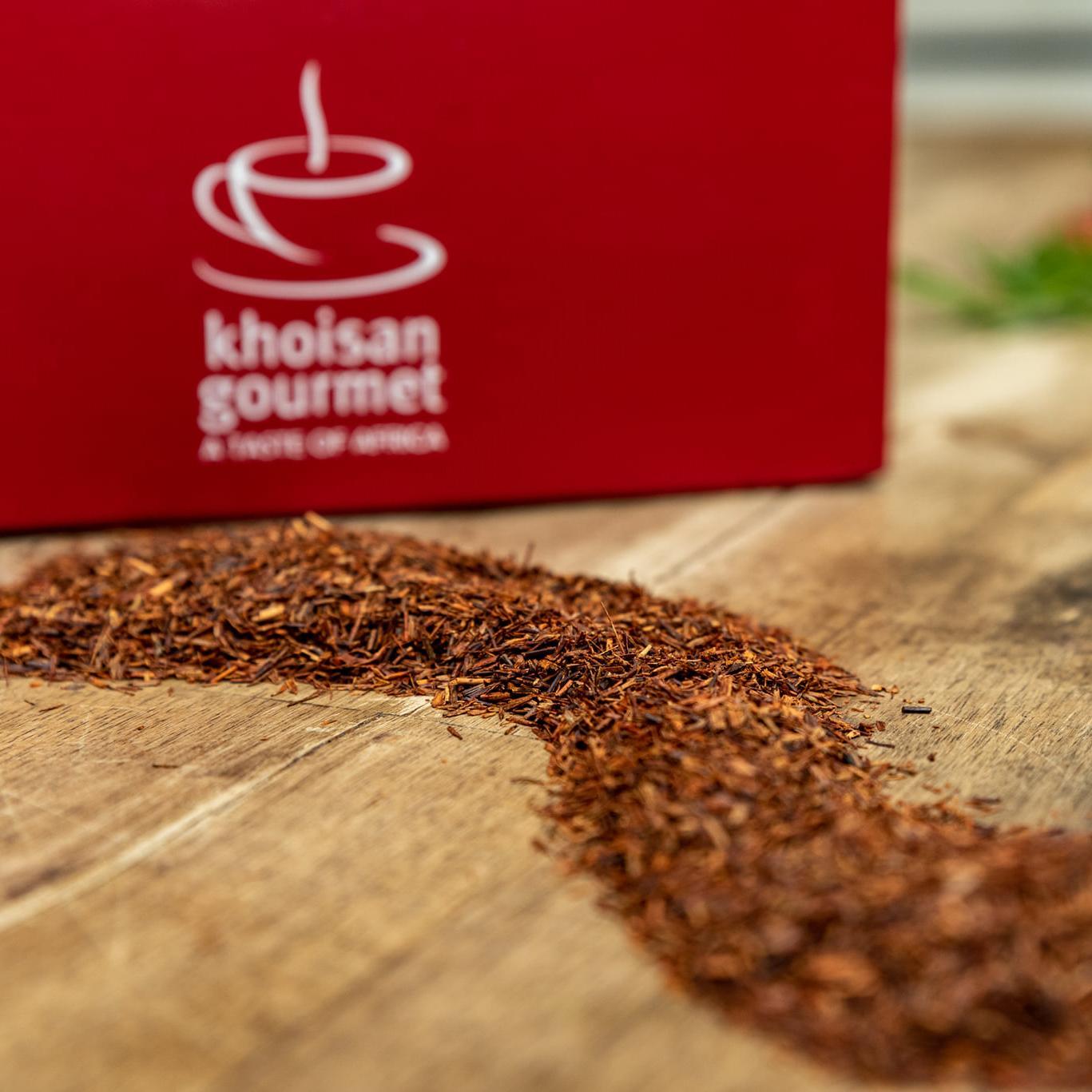 Vysypaný čaj od Rooibos Company