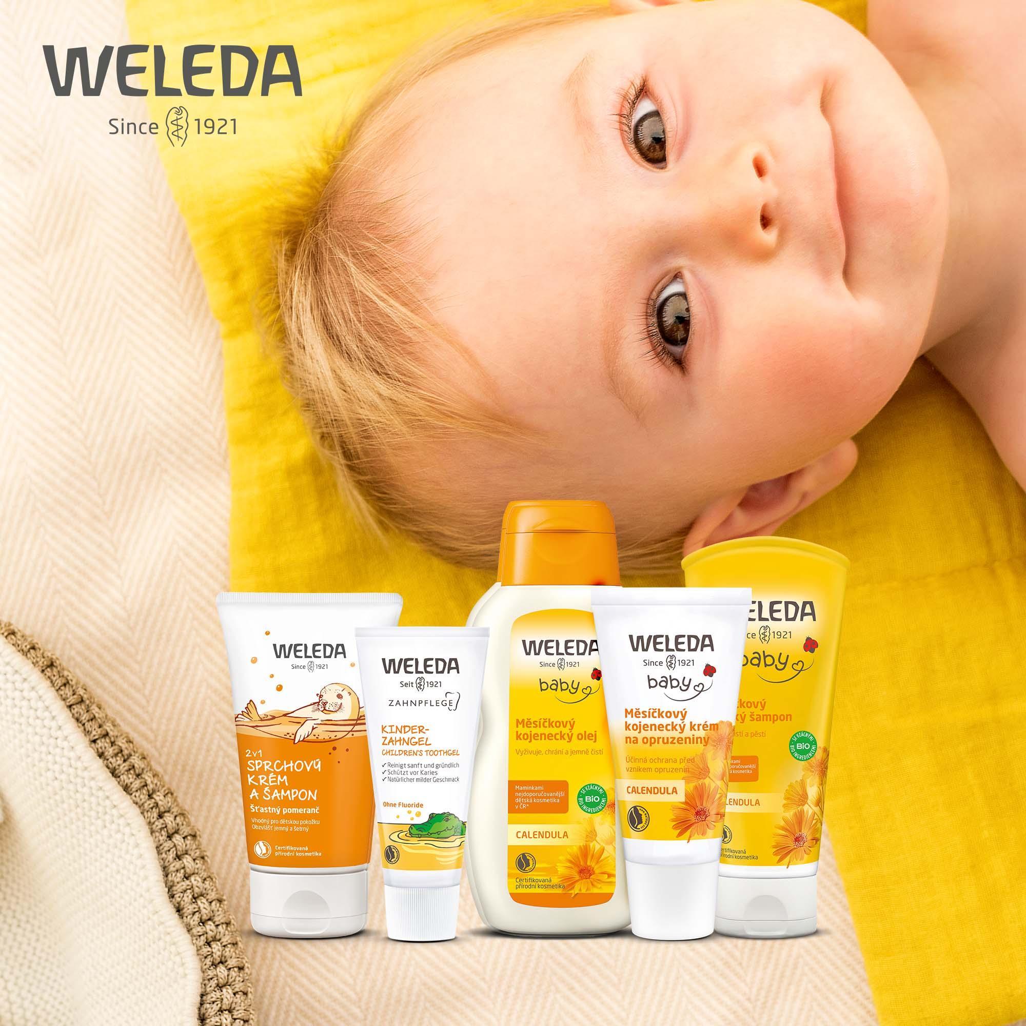 Péče o dětskou pokožku od Weledy