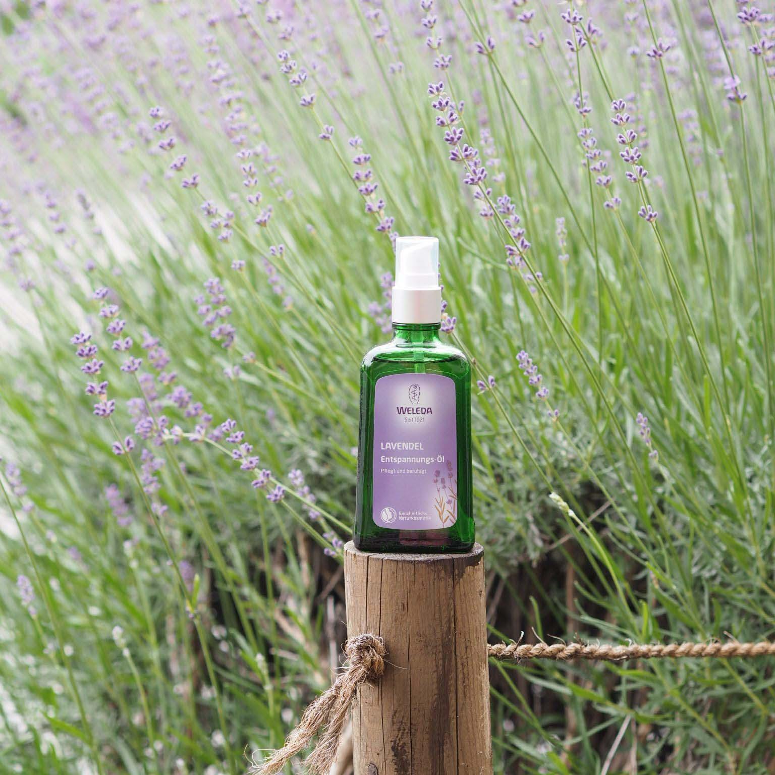 Levandulový olej od Weledy