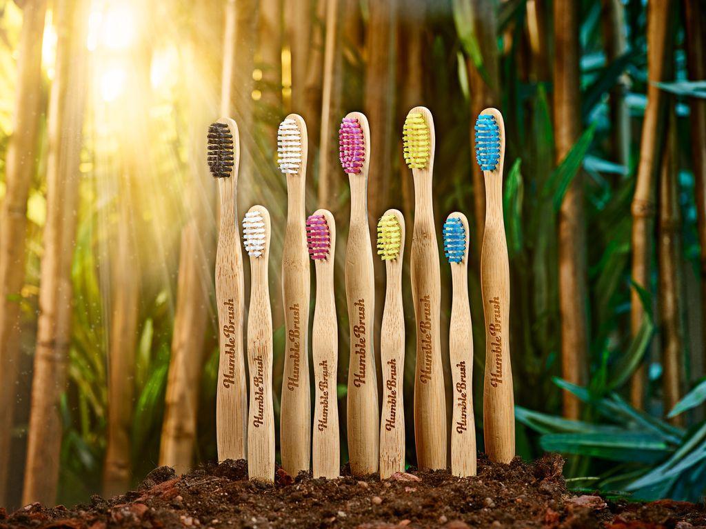 Humble Brush: bambusové kartáčky
