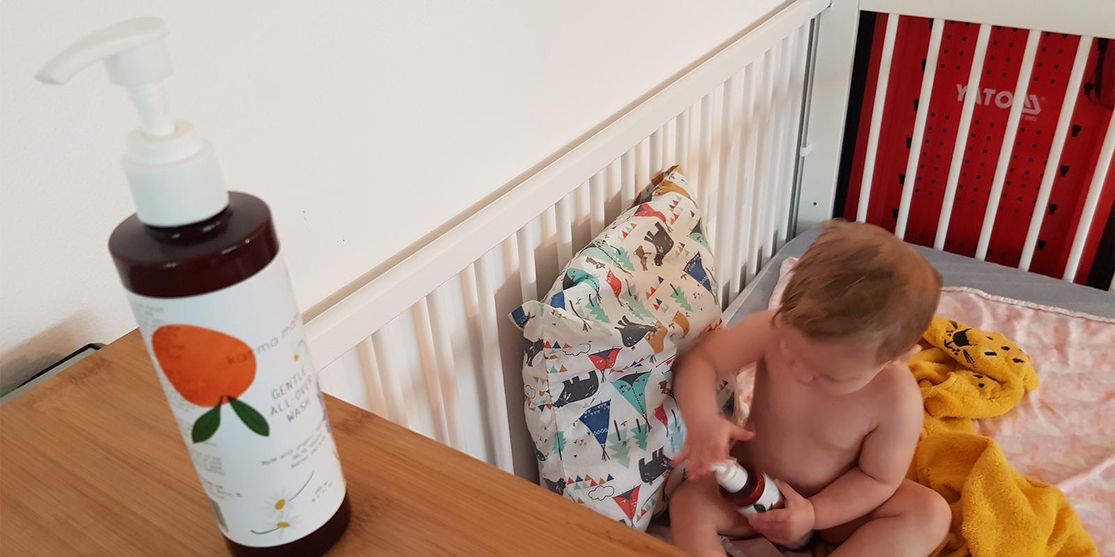 All-over mycí krém a Comfort cream tělový krém od Mama Karma