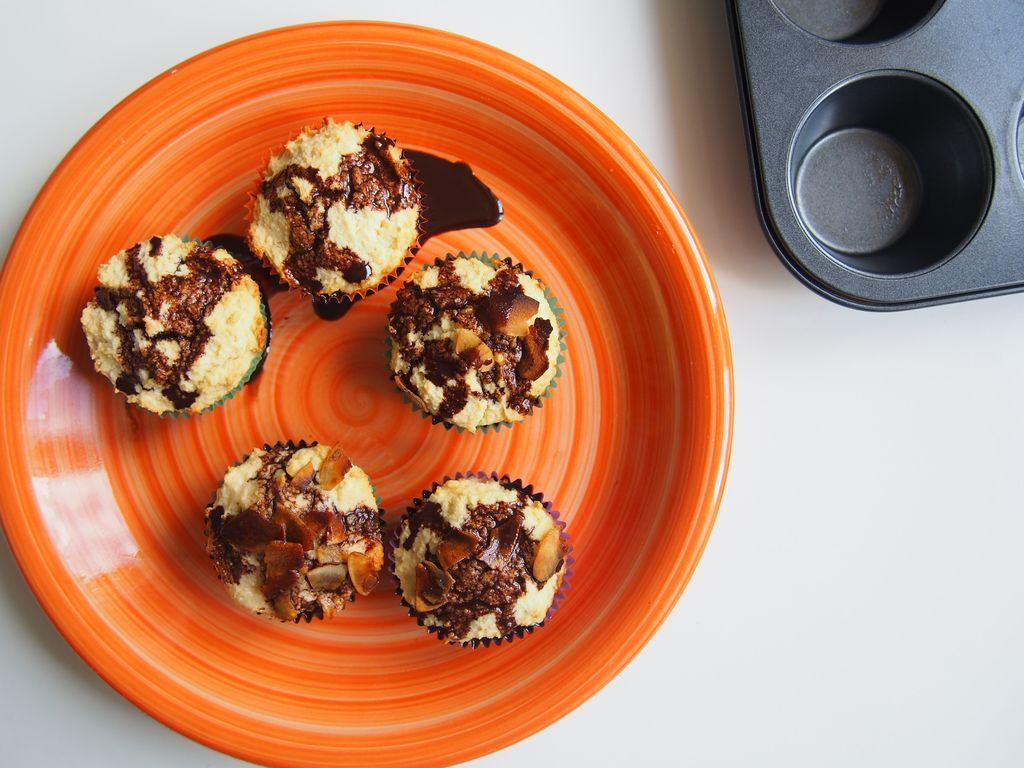 Kokosová bomba v muffinu