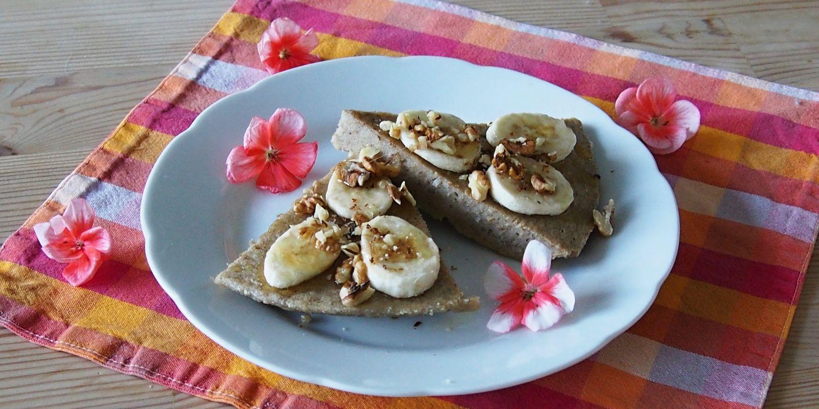 Lehká a výživná banánová omeleta