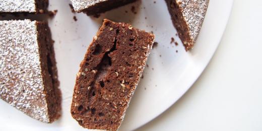 Arašídové brownies s kakaovým máslem