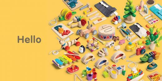 Hračky od Plan Toys
