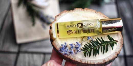 Levandulový olej na rty od Purity Vision