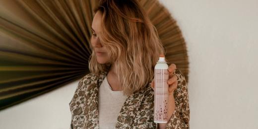 Suchý šampon od Naturigin