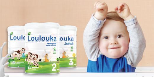 Loulouka, prémiová bio kojenecká výživa a dětská strava