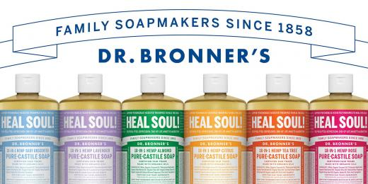 All in one mýdla od Dr. Bronner