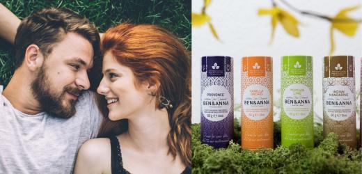 100% přírodní, veganská a zero waste kosmetika Ben & Anna