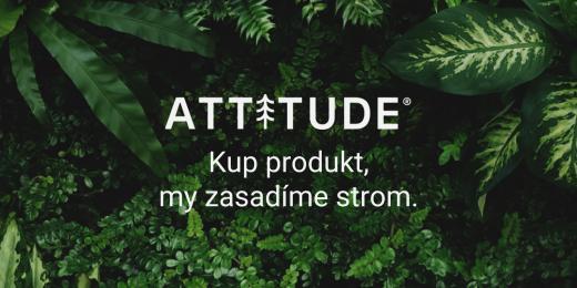 Attitude kup produkt, zasadíme strom
