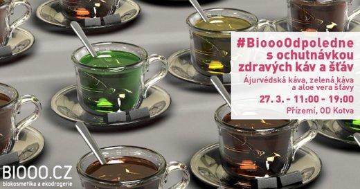 Biooo odpoledne s ajurvédskými produkty