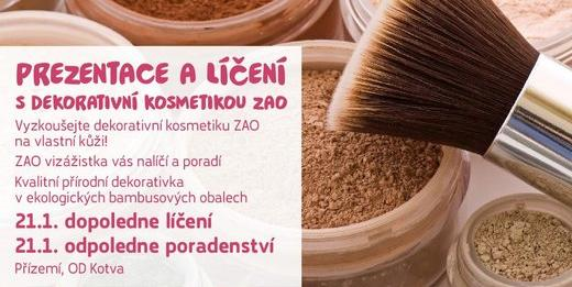 #BioooOdpoledne s dekorativní kosmetikou ZAO
