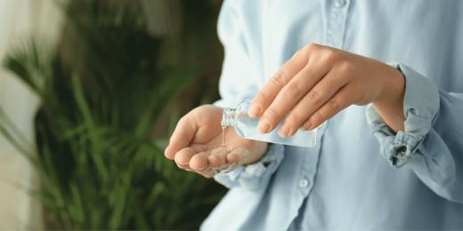 DYI dezinfekce antibakteriální gel domácí dezinfekce