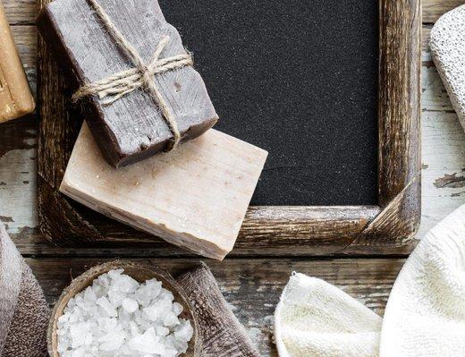 Klasika v přírodním kabátě - přírodní tuhá mýdla
