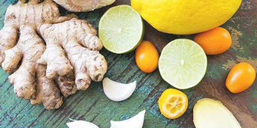 Koronavirus Jak na posileni imunity, zazvor, vitamin c, prirodni produkty