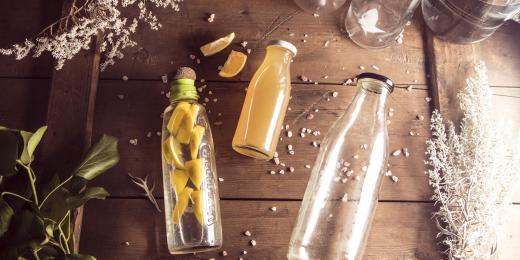 Láhev na pití, snadný krok k zero waste