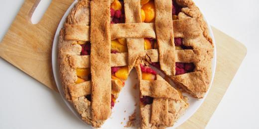 Letní ovocný koláč