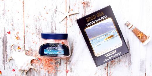 Malki sůl z Mrtvého moře – rozmazlujte se nejen o Vánocích