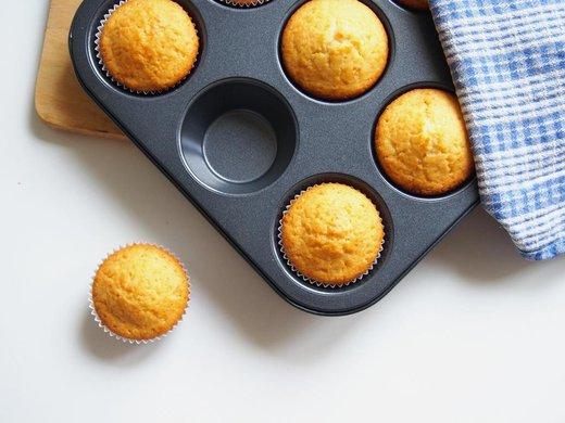 Muffiny se sezamovým olejem