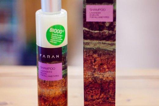 Recenze: Faran pro všechny typy vlasů (levandule- meloun)