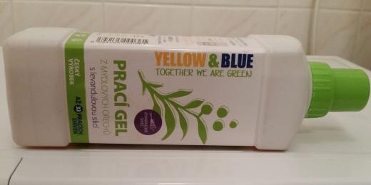 Recenze: Levandulový prací gel z ořechů Yellow and Blue