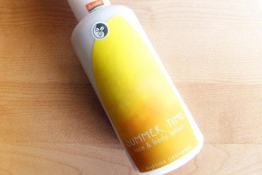 Recenze: Martina Gebhardt regenerační tělové mléko Summer Time