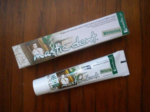 Recenze: Mastic Spa bělící zubní pasta