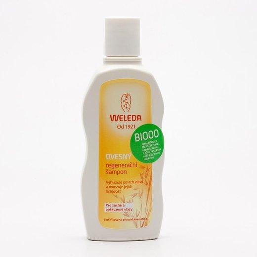 Ovesný regenerační šampon pro suché a poškozené vlasy Weleda