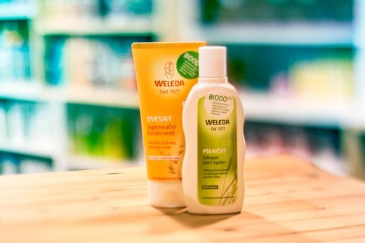 Recenze: Pšeničný šampon Weleda proti lupům