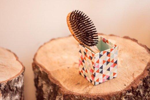 Recenze: Redecker Kartáč oválný velký z olivového dřeva 22 cm