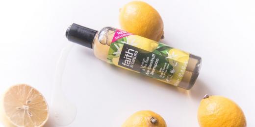 Recenze:Šampon Faith in Nature Citron a Tea Tree