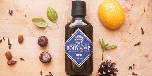 Recenze: Sportique tělové mýdlo Unisex