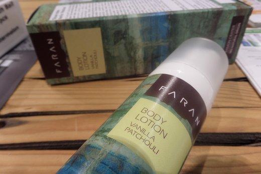 Recenze: Tělové mléko Faran (vanilla& patchouli)
