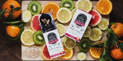 Produkty Royal Green s plátky ovoce