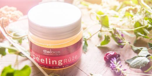 Saloos růžový peeling