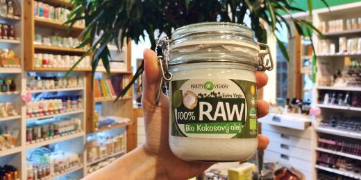 V čem je lepší raw kokosový olej