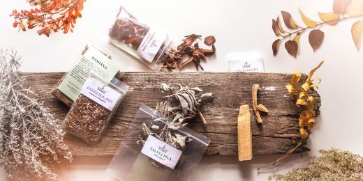 Vykuřování - Archaická aromaterapie