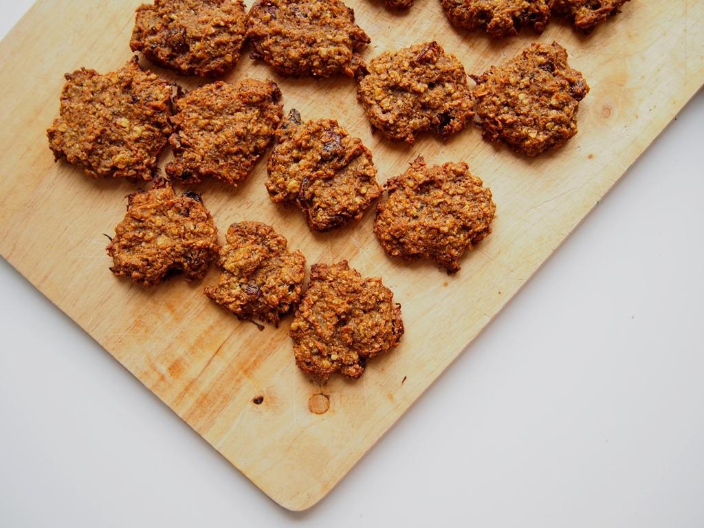 Mrkvovo-ovesné sušenky