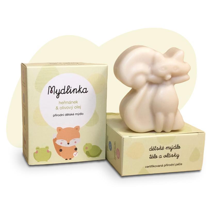 Mýdlo liška od Mydlinky