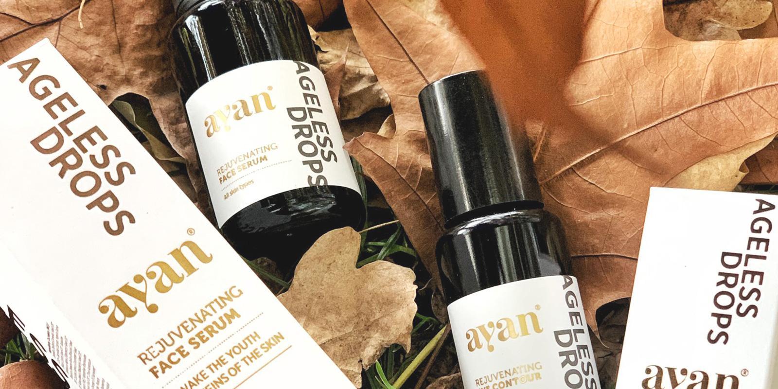 Ayan produkty na podzimním listí