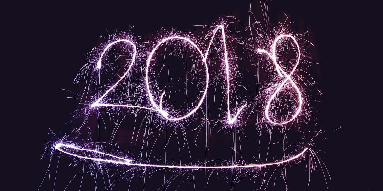 Nalaďte se na světlo v průběhu celého roku 2018