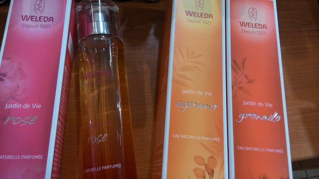 Navoňte se přírodou - Weleda parfémy