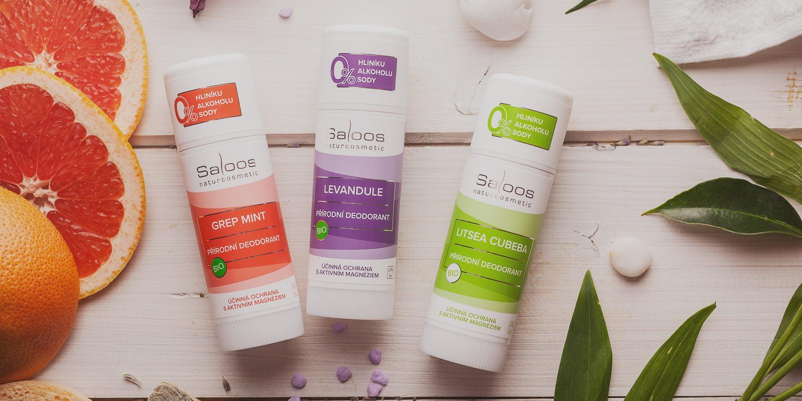 Saloos přírodní deodorant
