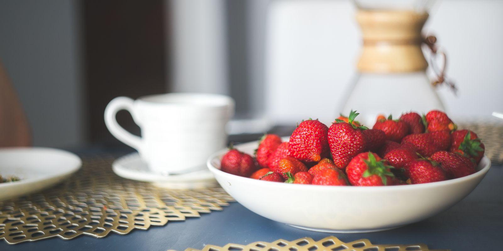 Jahody jako lahodný zdroj vitaminu C